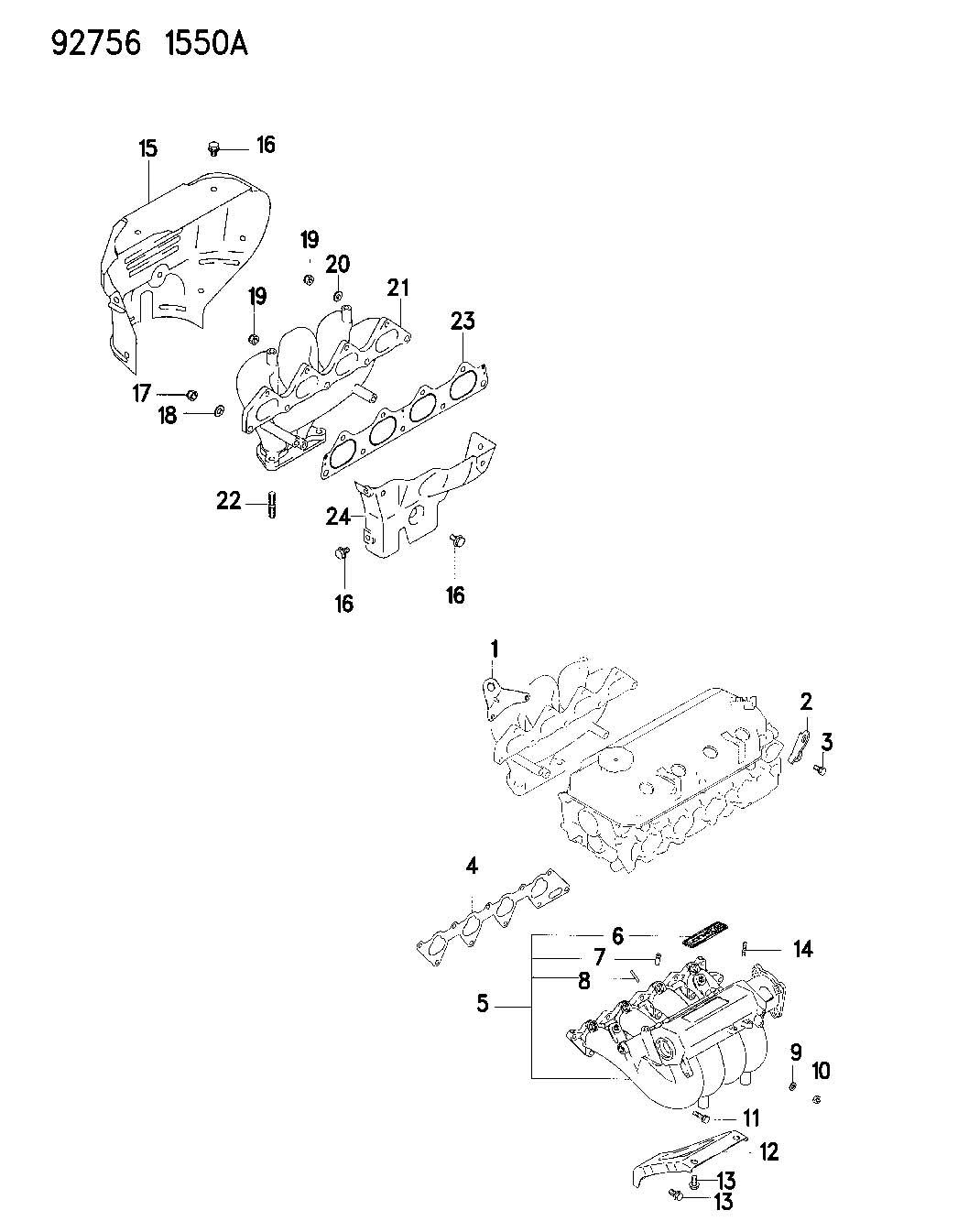 Chrysler Sebring Bracket Engine Lift