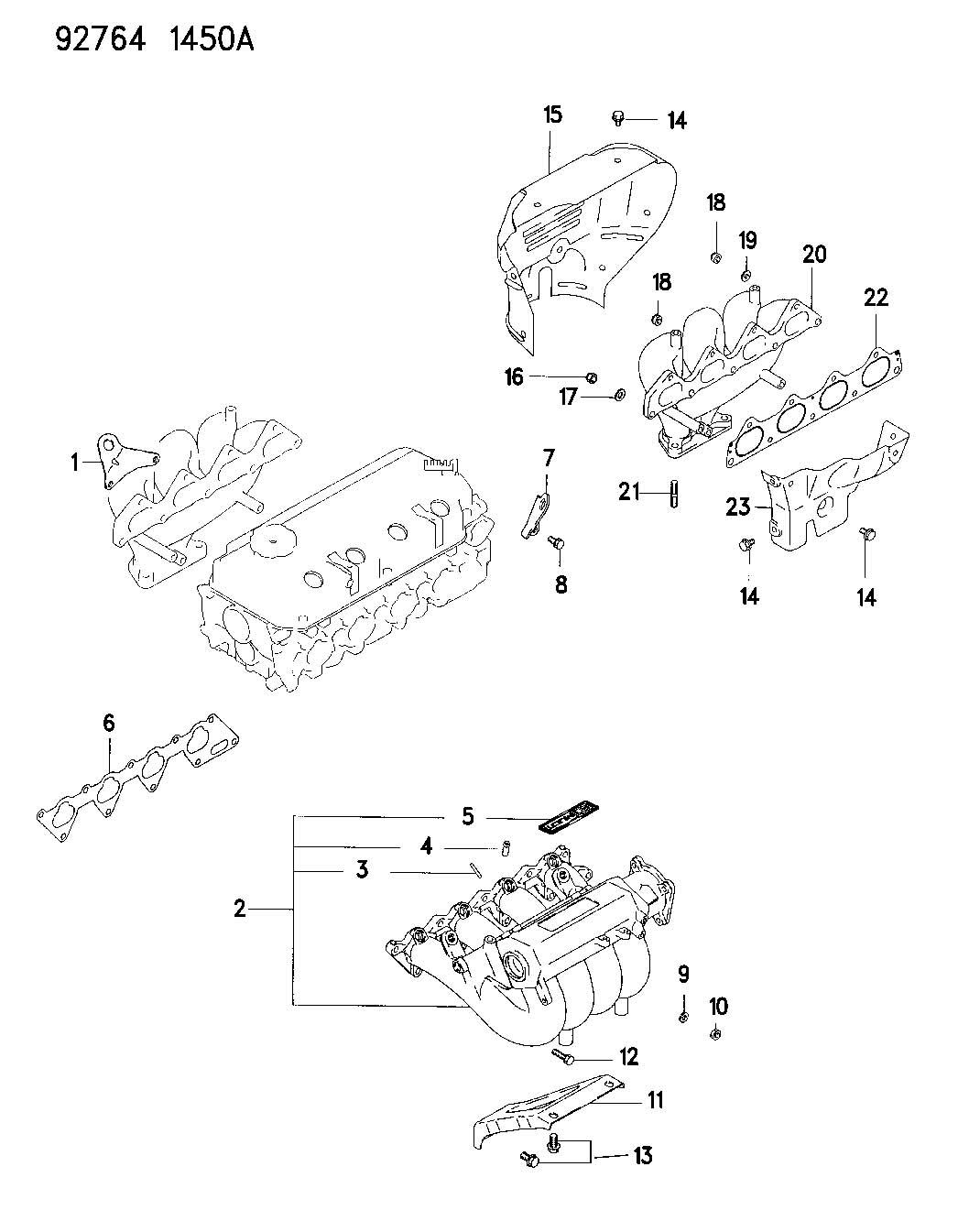 Dodge Stratus Bracket Engine Lift