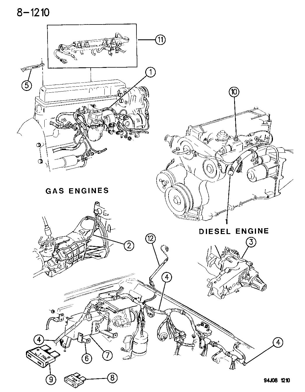 Jeep Cherokee Harness Trans Solenoids And Module