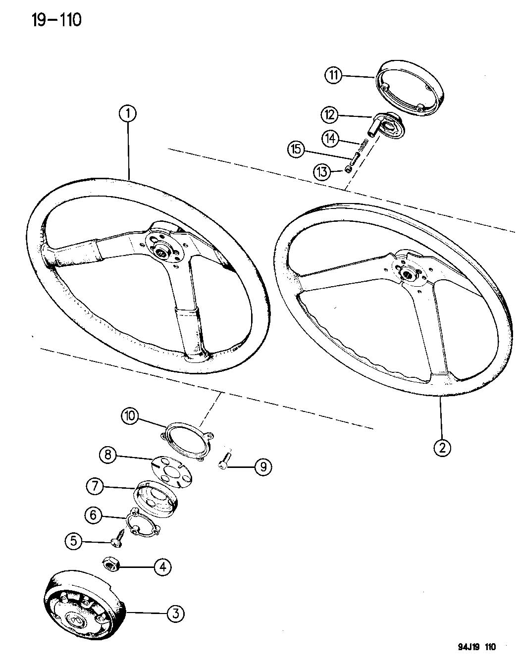 Jeep Wrangler Wheel Steering Wrangler Yj