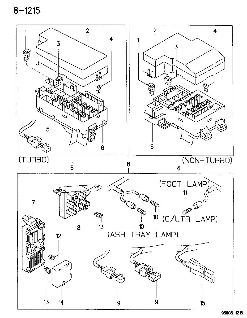 Eagle Talon Cover Relay Box L H Series U S Canada