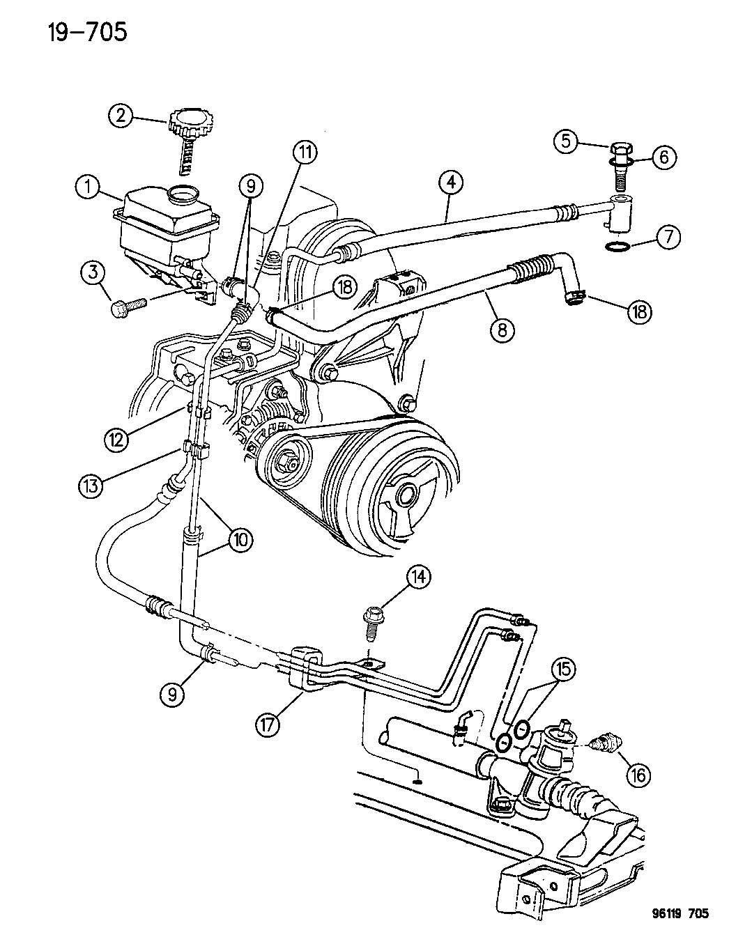 Chrysler Pt Cruiser Switch Power Steering Power