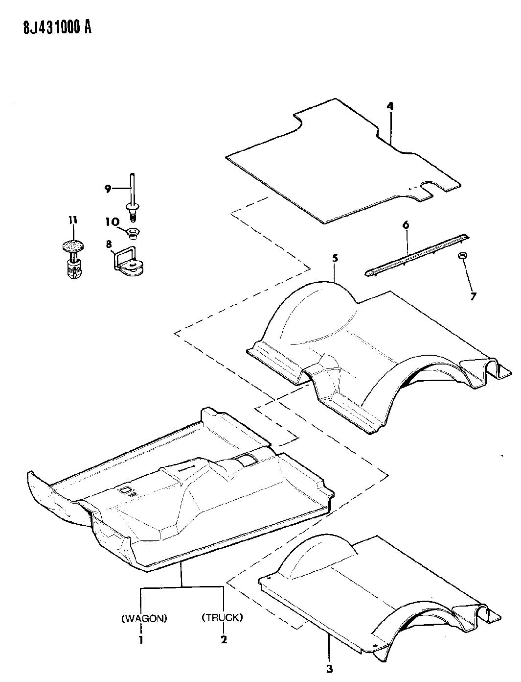 Jeep Comanche Parts