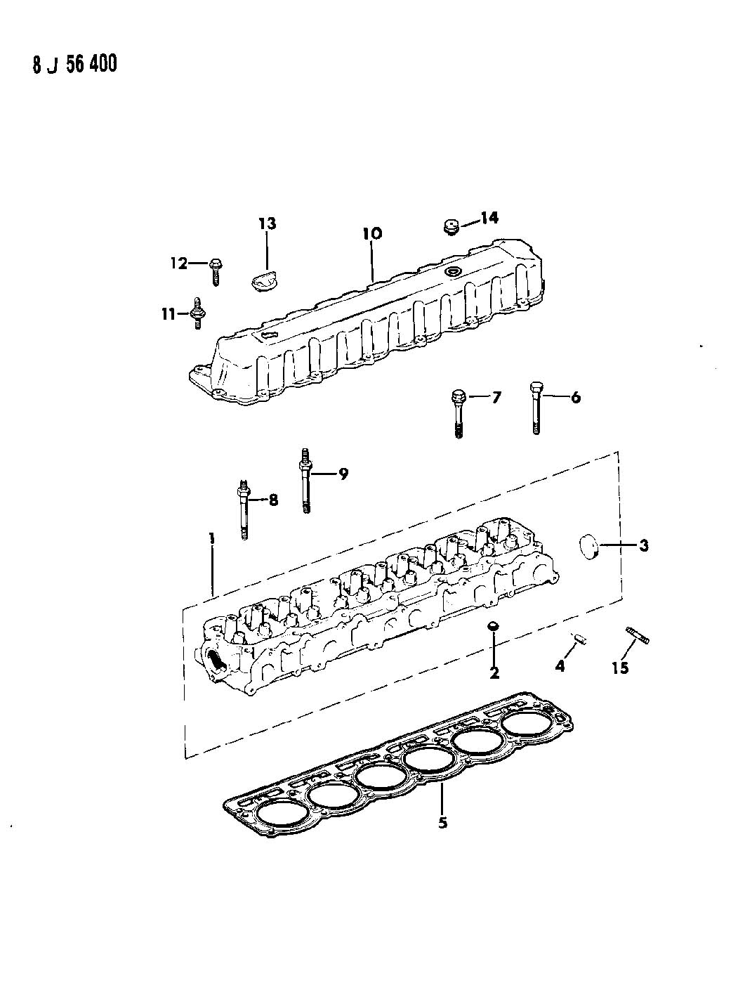 Jeep Grand Cherokee Bolt Cylinder Head