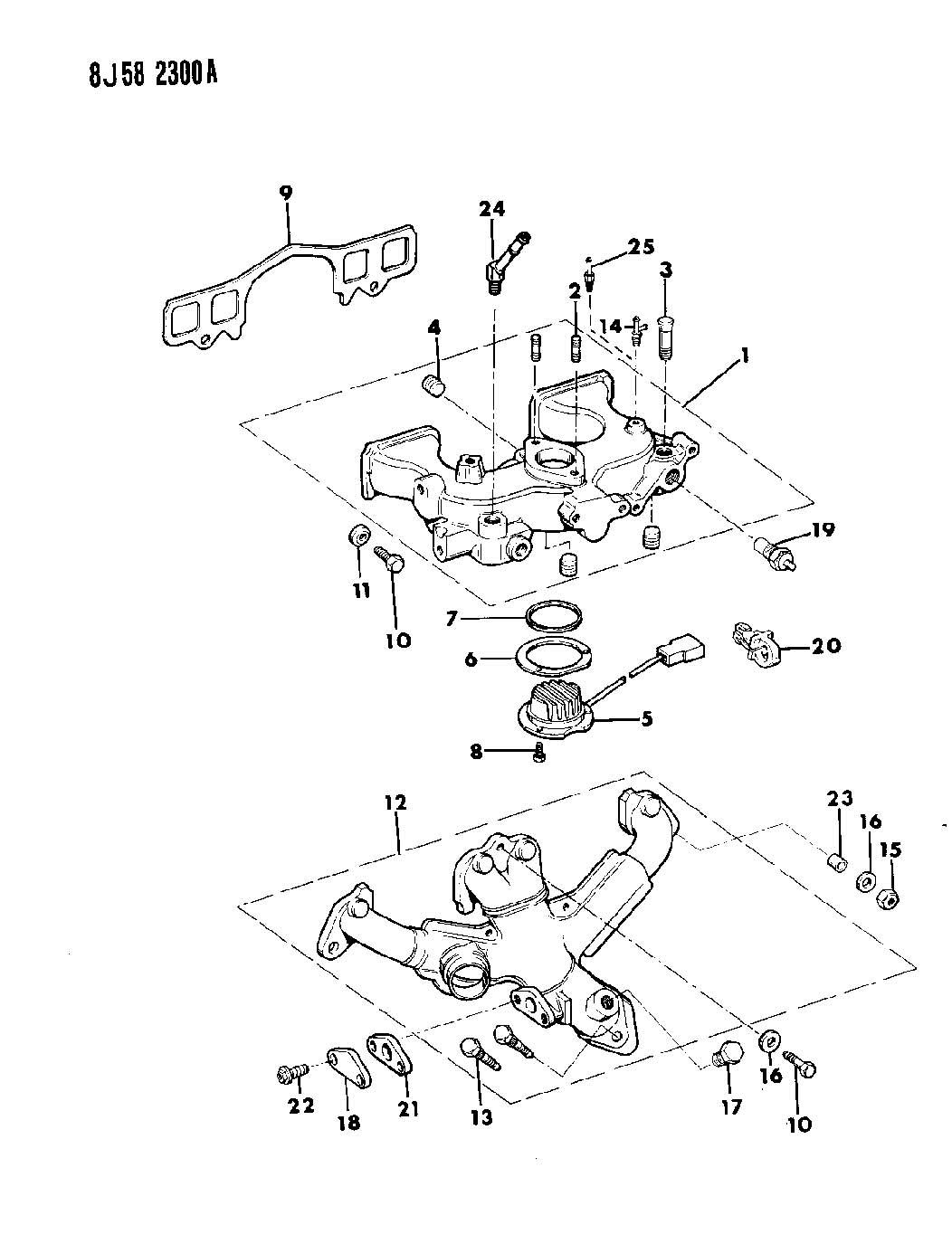 Jeep Wrangler Manifold