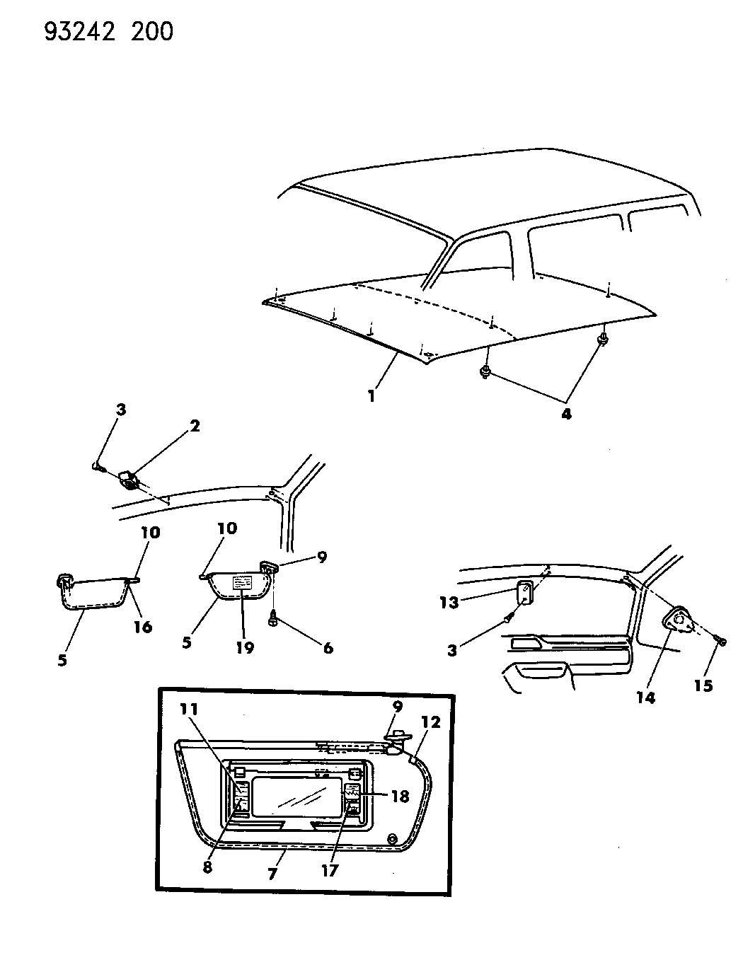 Dodge Grand Caravan Parts Diagram
