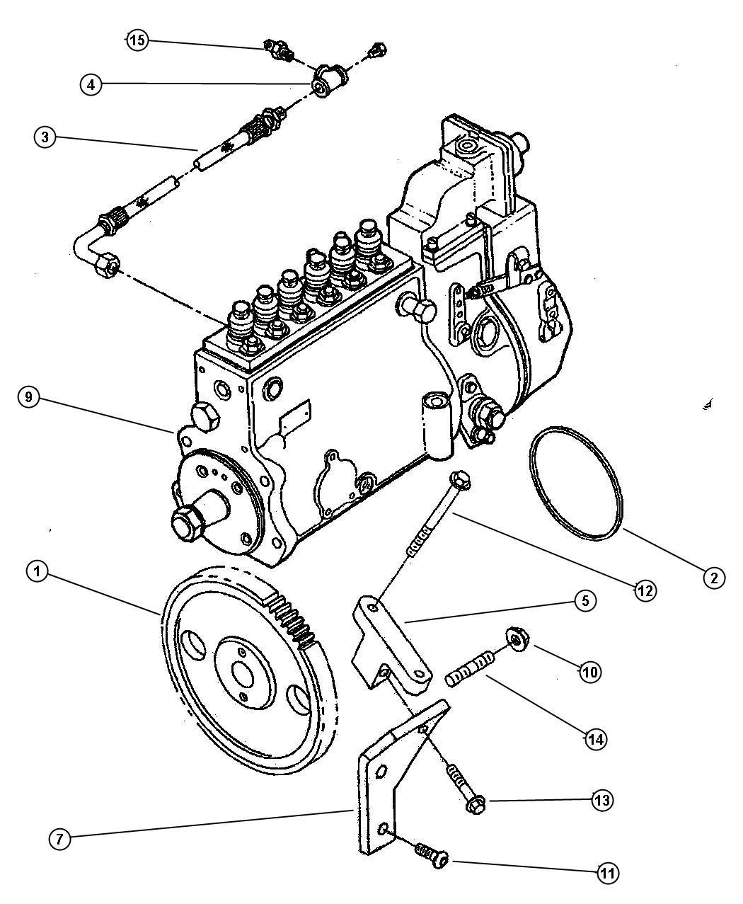 Dodge Ram Gear Injection Pump Emissionsleaded