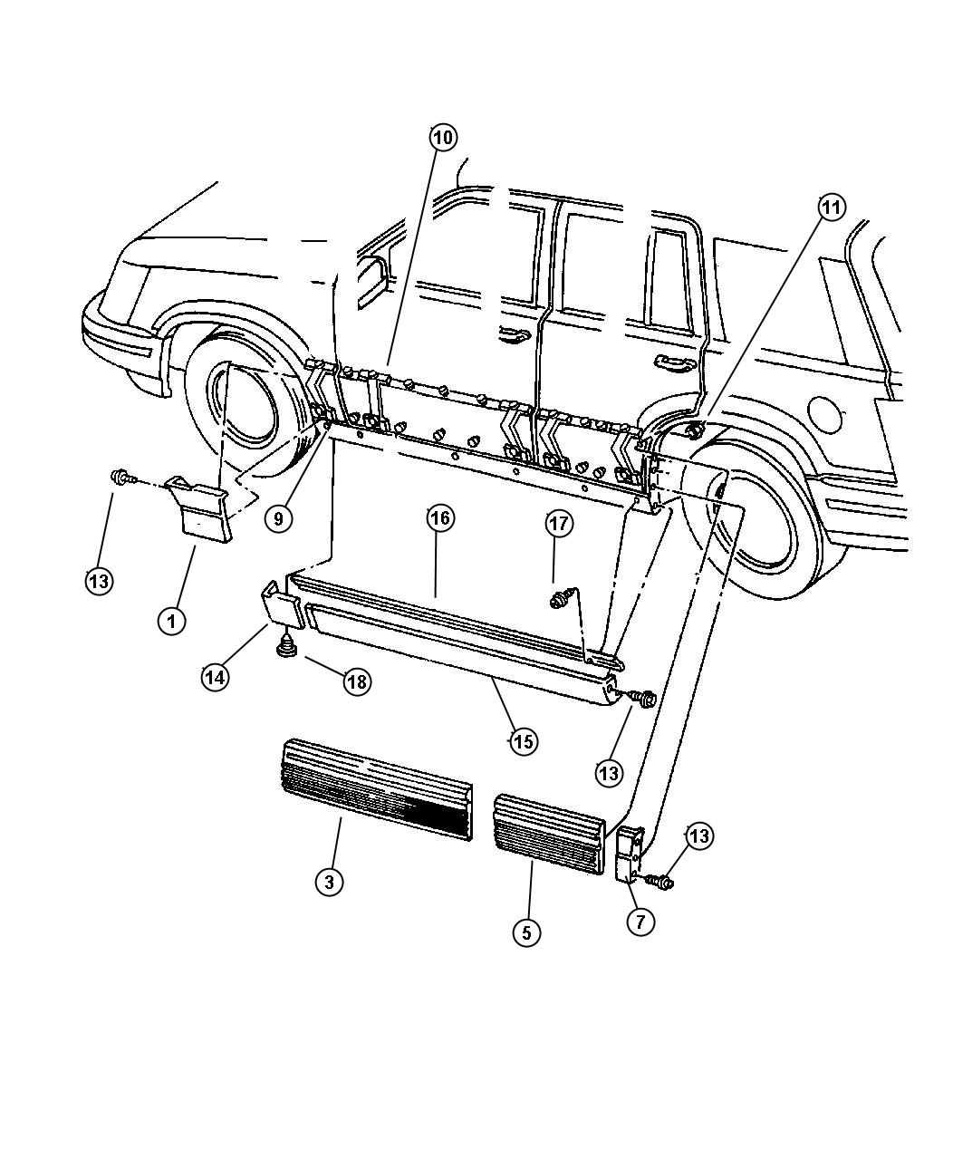 Jeep Cj7 Replacement Body Part