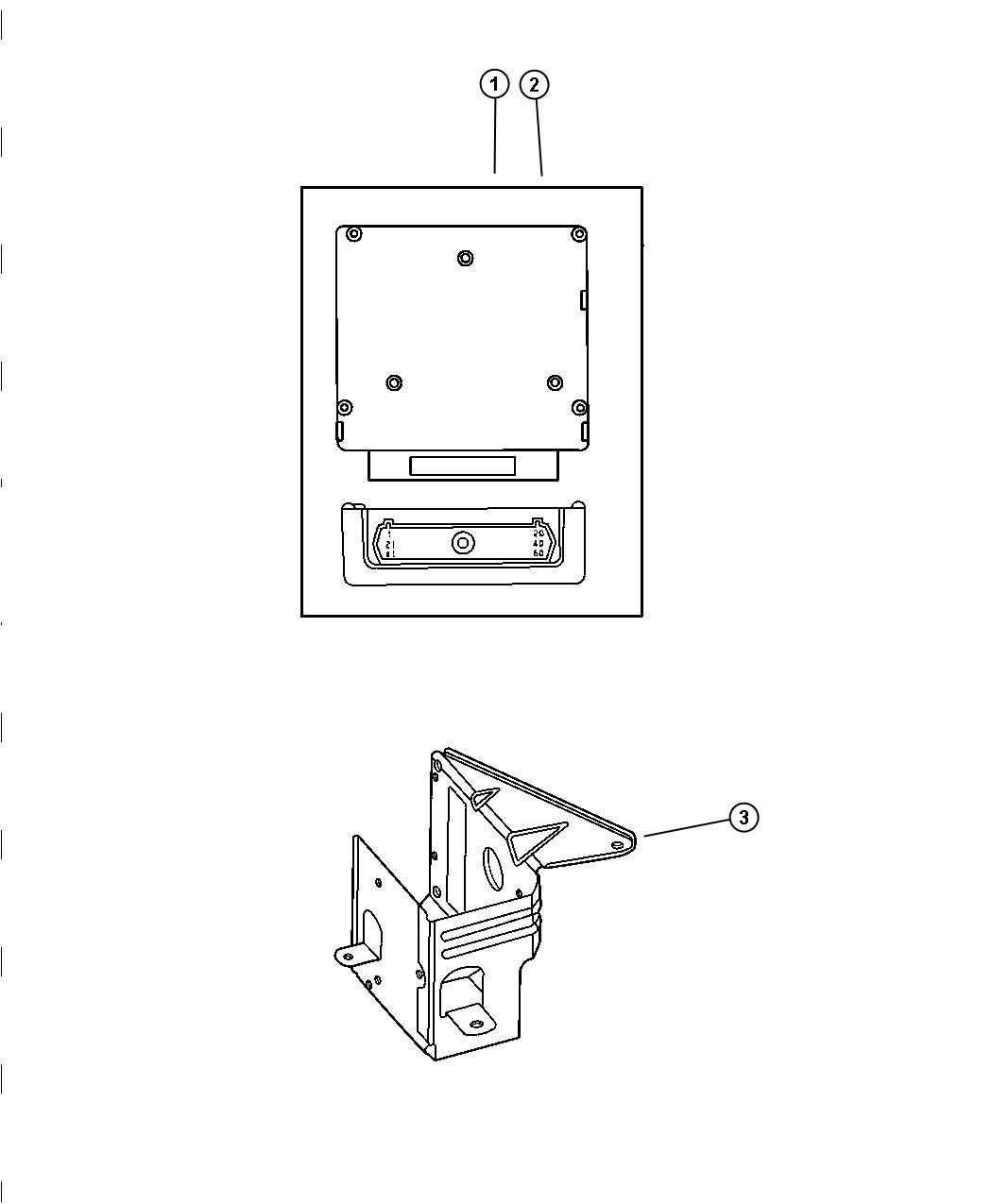 Chrysler Sebring Wiring Repair Package Powertrain Control
