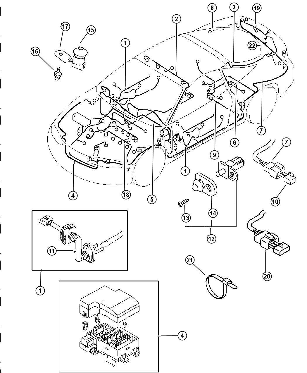 Chrysler Sebring Wiring Alternator Relayssensorscontrol