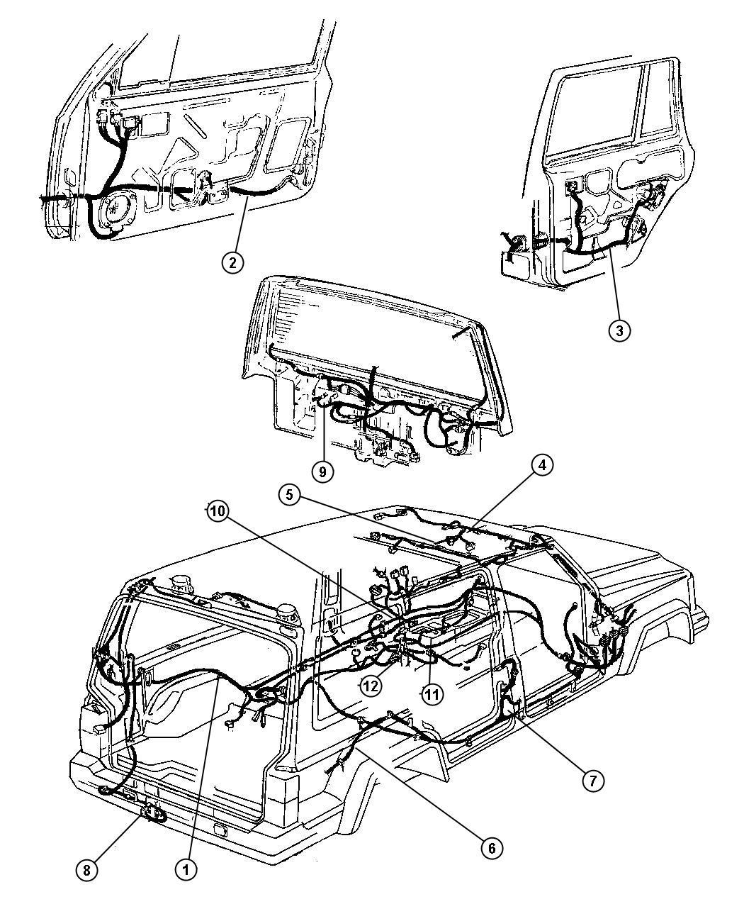 Jeep Cherokee Wiring Liftgate Dutyargentina