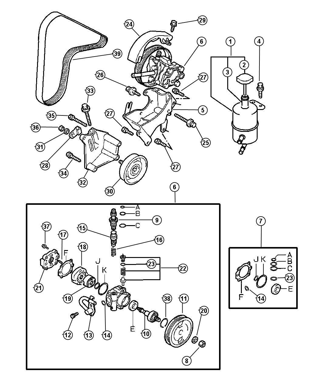 Chrysler Sebring Screw