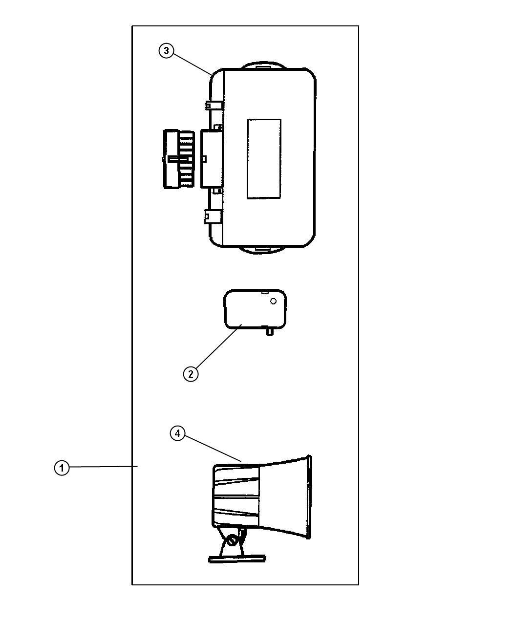 Jeep Grand Cherokee Module Security Alarm