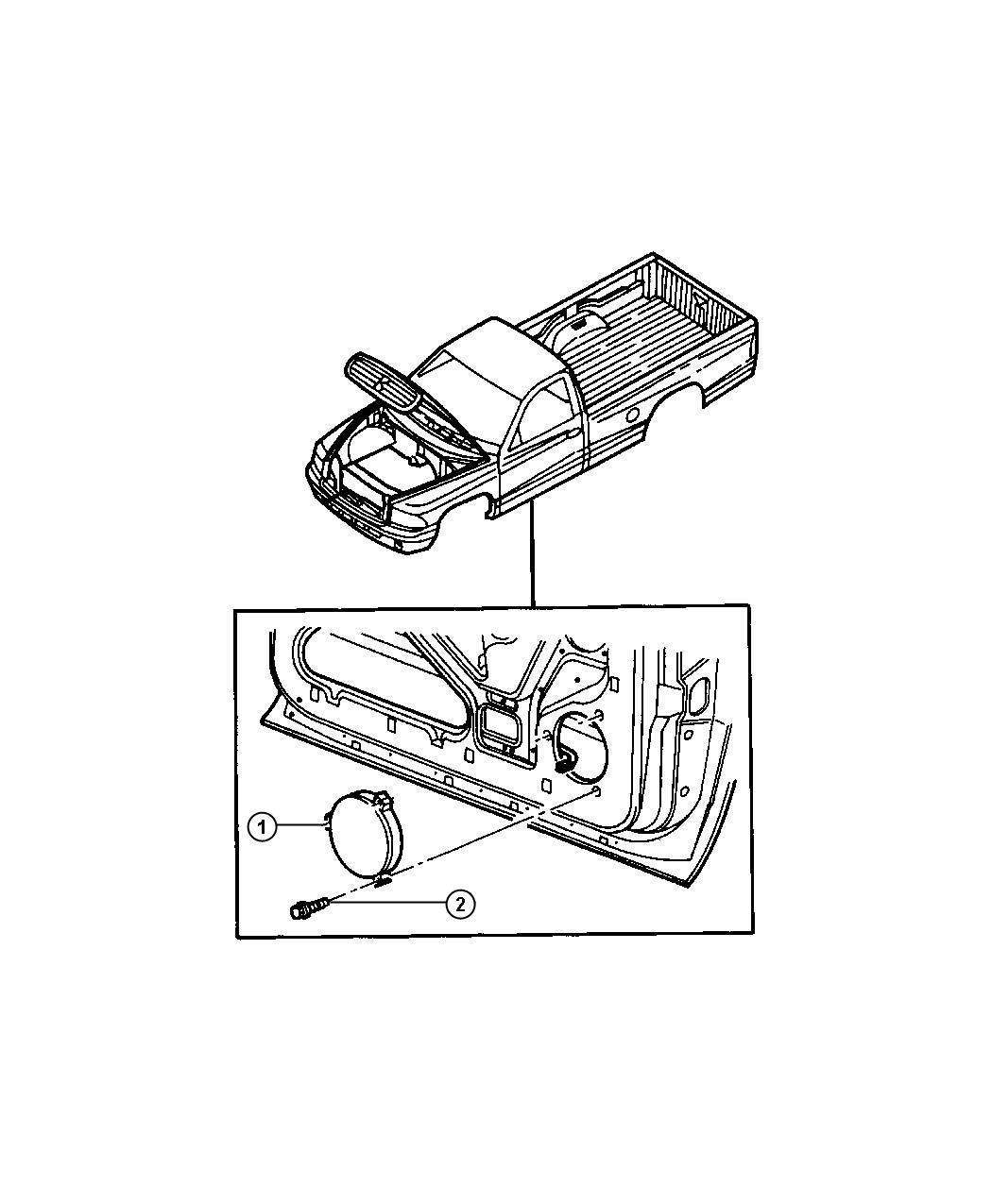 Dodge Ram Choke Speaker Coatker Wheeling