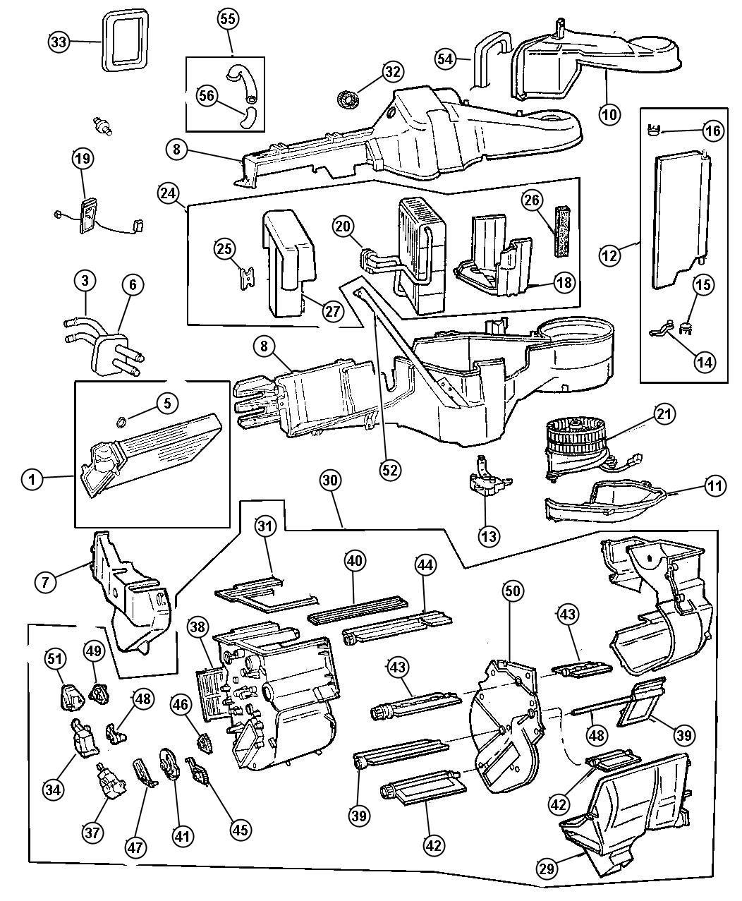Dodge Caravan Wiring Blower Motor