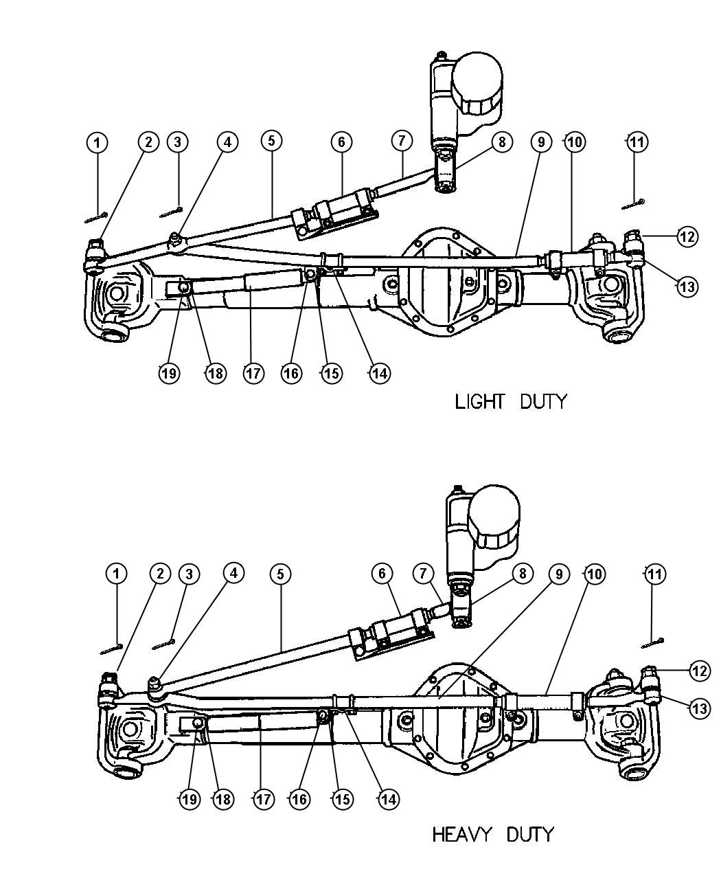 Linkage Steering Br 3 With Z3b Br 6 7 8