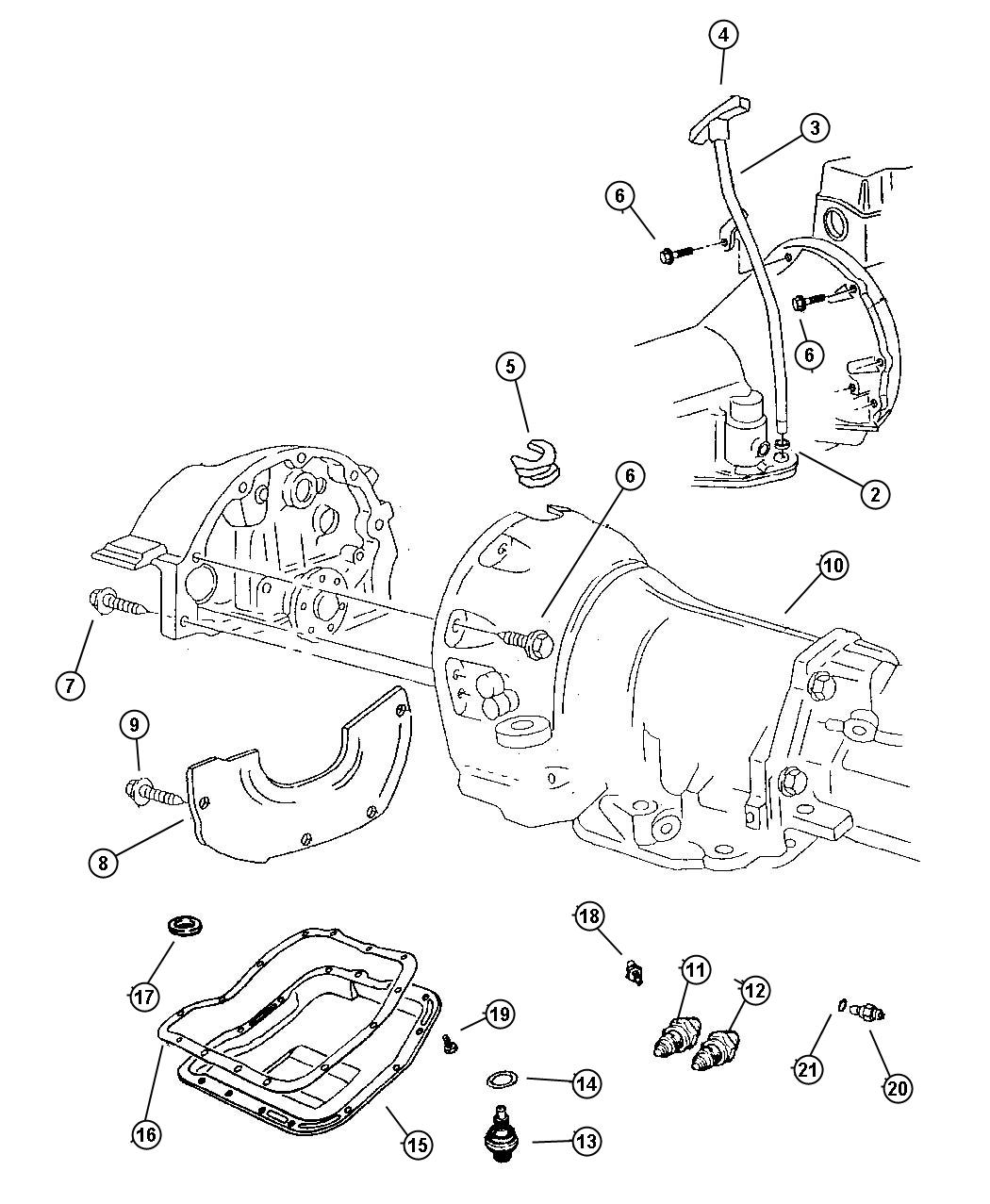 Grand Cherokee Case And Related Parts 46re Dgt