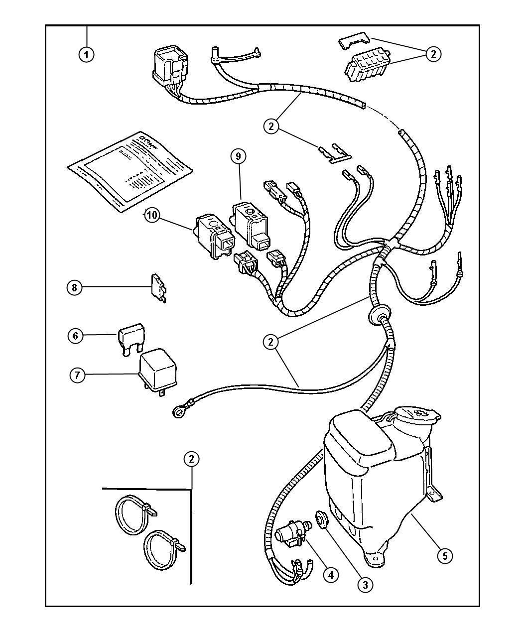 Jeep Wrangler Hardtop Wiring Kit