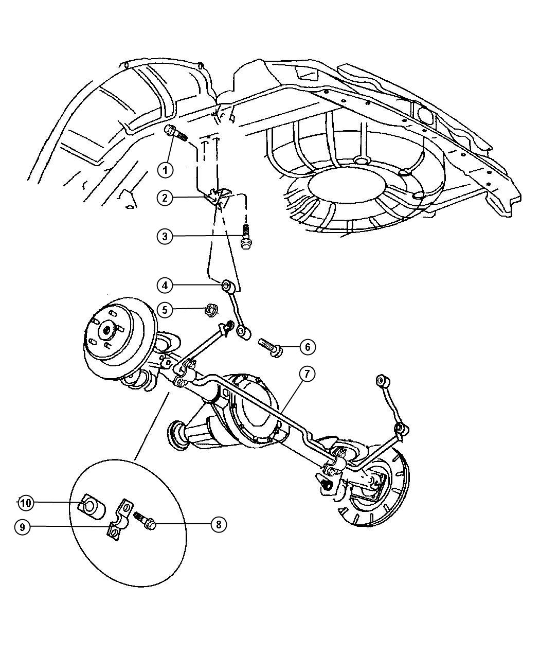 Dodge Dakota Used For Bolt And Washer Used For