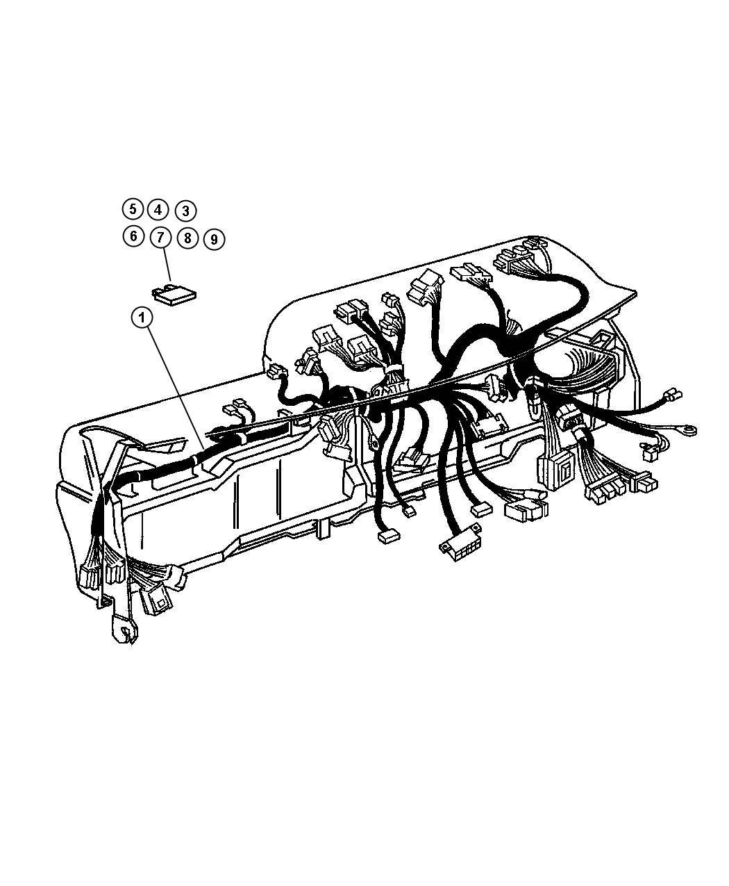 Dodge Ram Wiring Steering Wheel Jumper W Sales