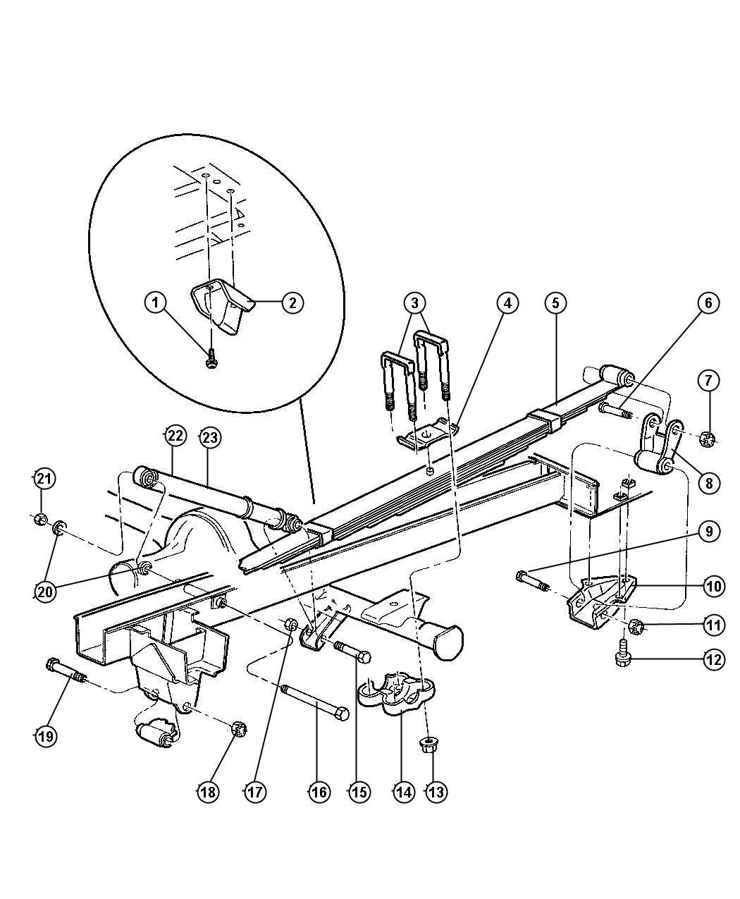 Dodge Ram Screw Pilot Point Truss Head M14x2