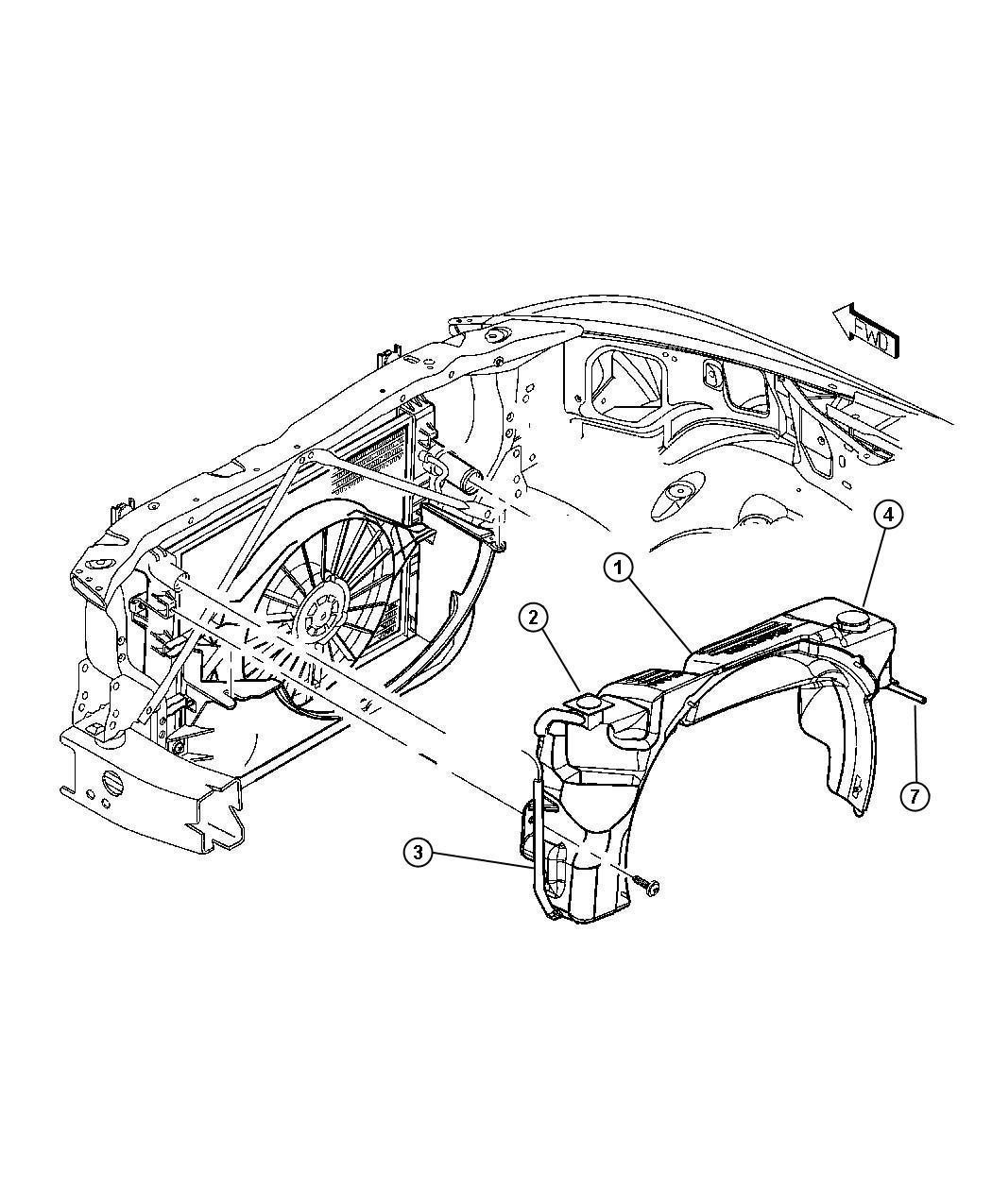 Dodge Durango Sensor Washer Fluid Level Front Amp Rear