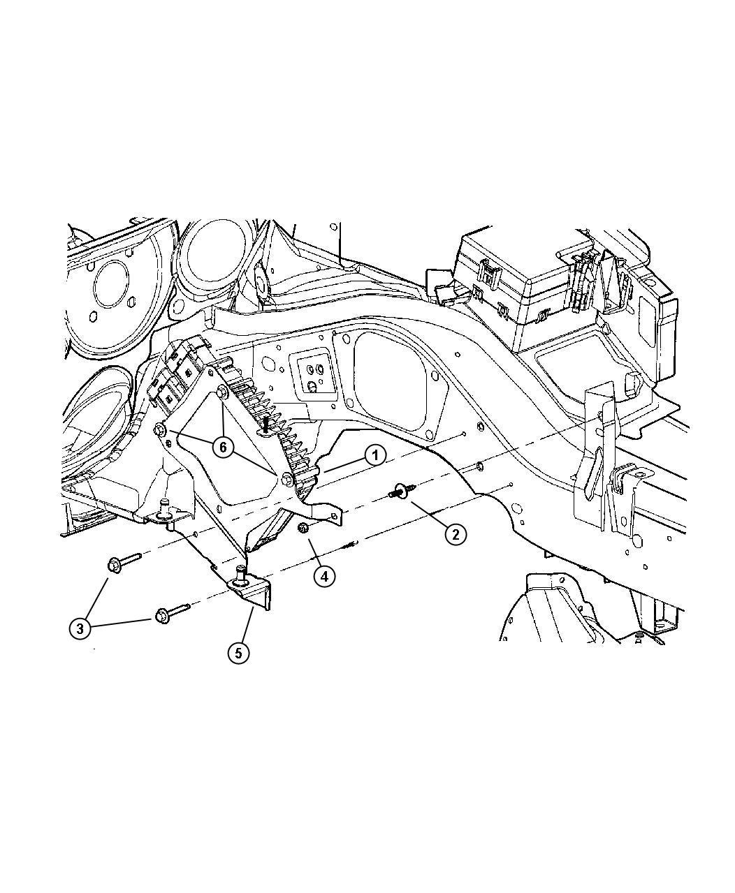 Dodge Stratus Module Engine Controller European Iii