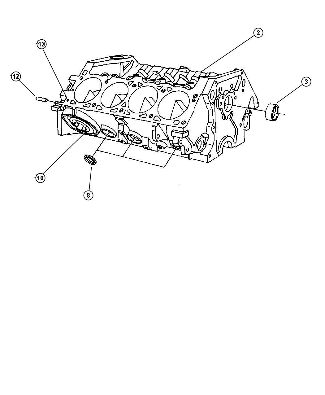 Chrysler Plug Core 1 25 Diameter Cylinder Head