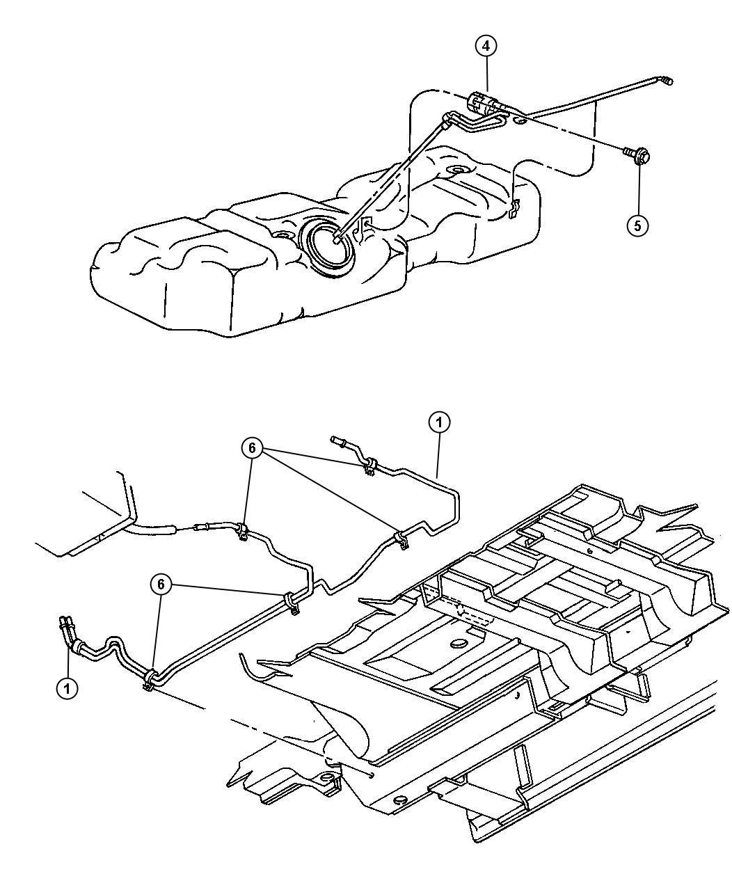 Dodge Grand Caravan Separator Liquid Vapor