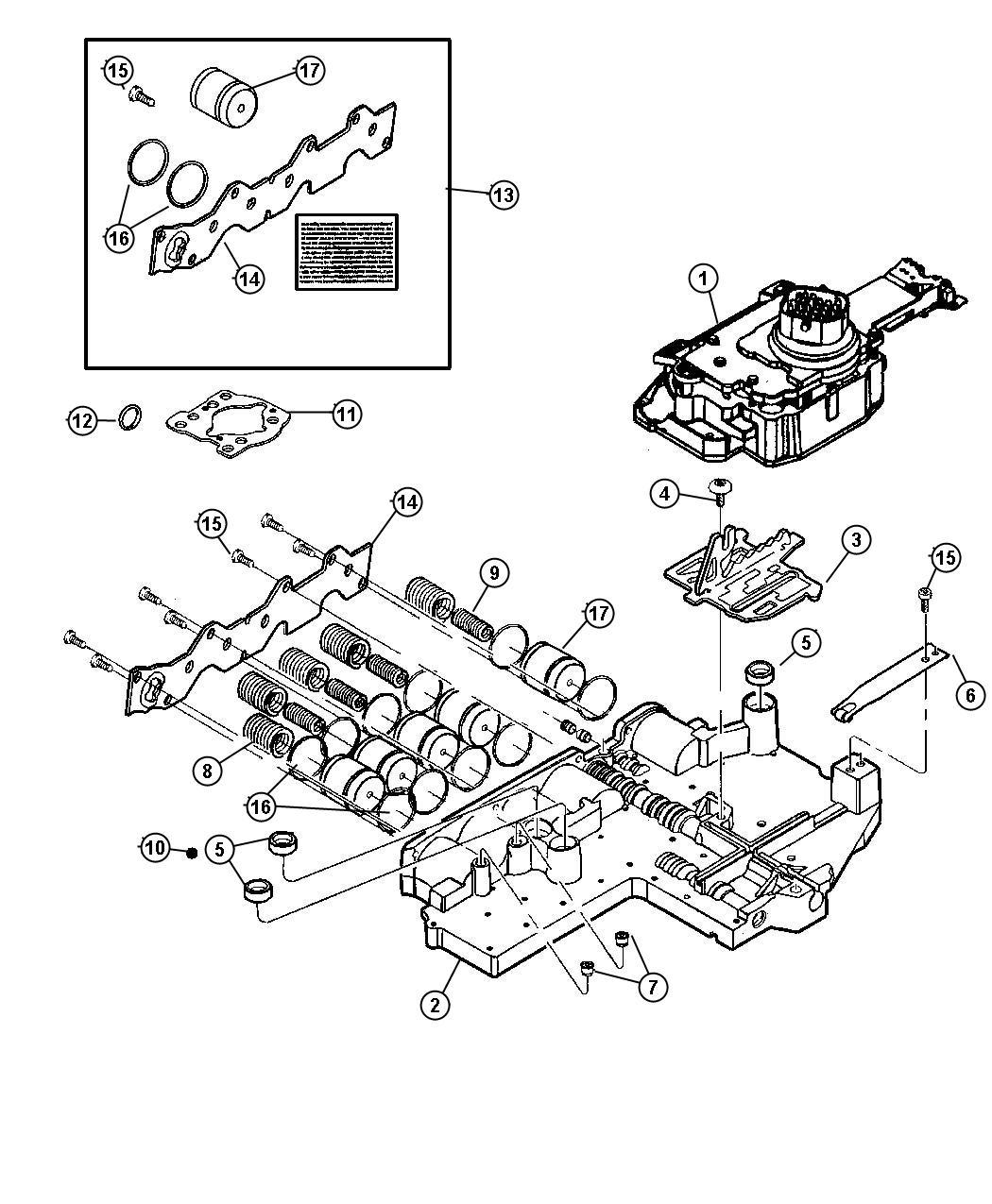 Valve Body Valve Body Assembly Remanufactured
