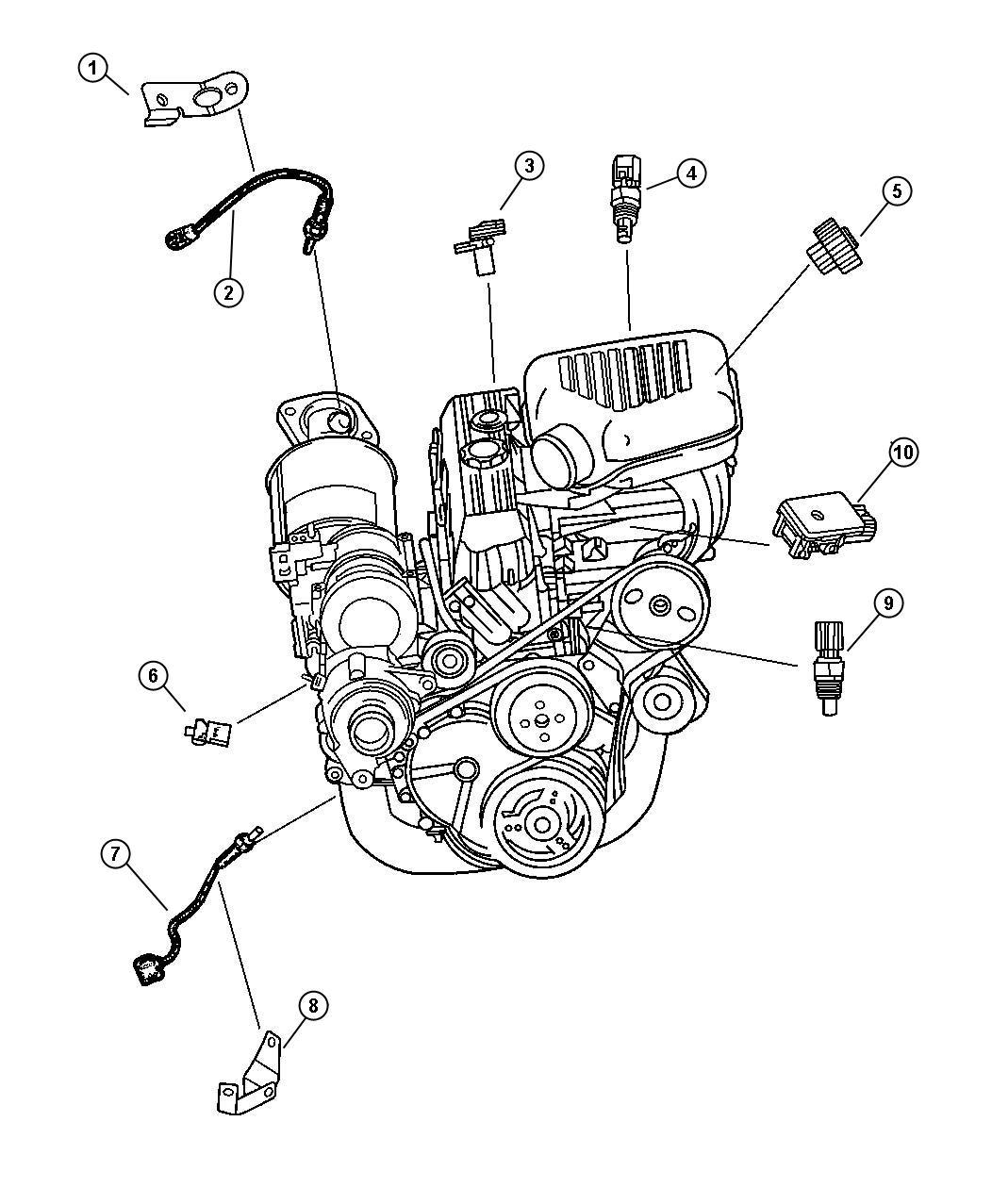 Dodge Dakota Sensor Oxygen Left Right Exporteuro Lll
