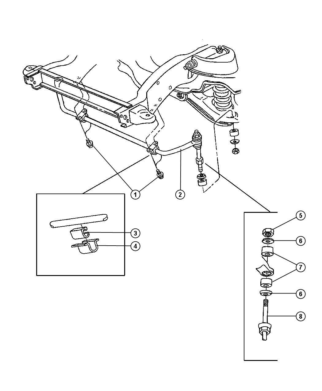 Chrysler Pt Cruiser Bolt Used For Screw And Washer