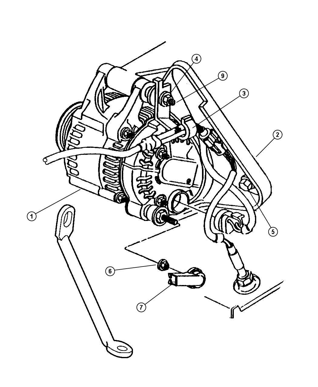 Jeep Wrangler Nut Hex Flange Lock M6x1 A C Line
