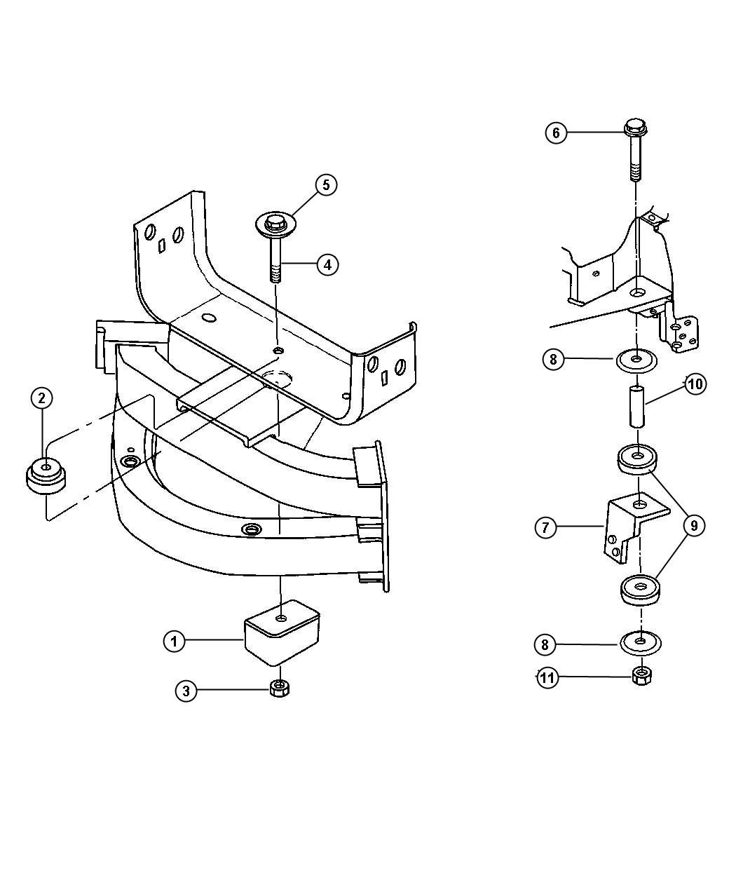 Dodge Ram Nut Hex Flange Lock M14x2 M14x2 00