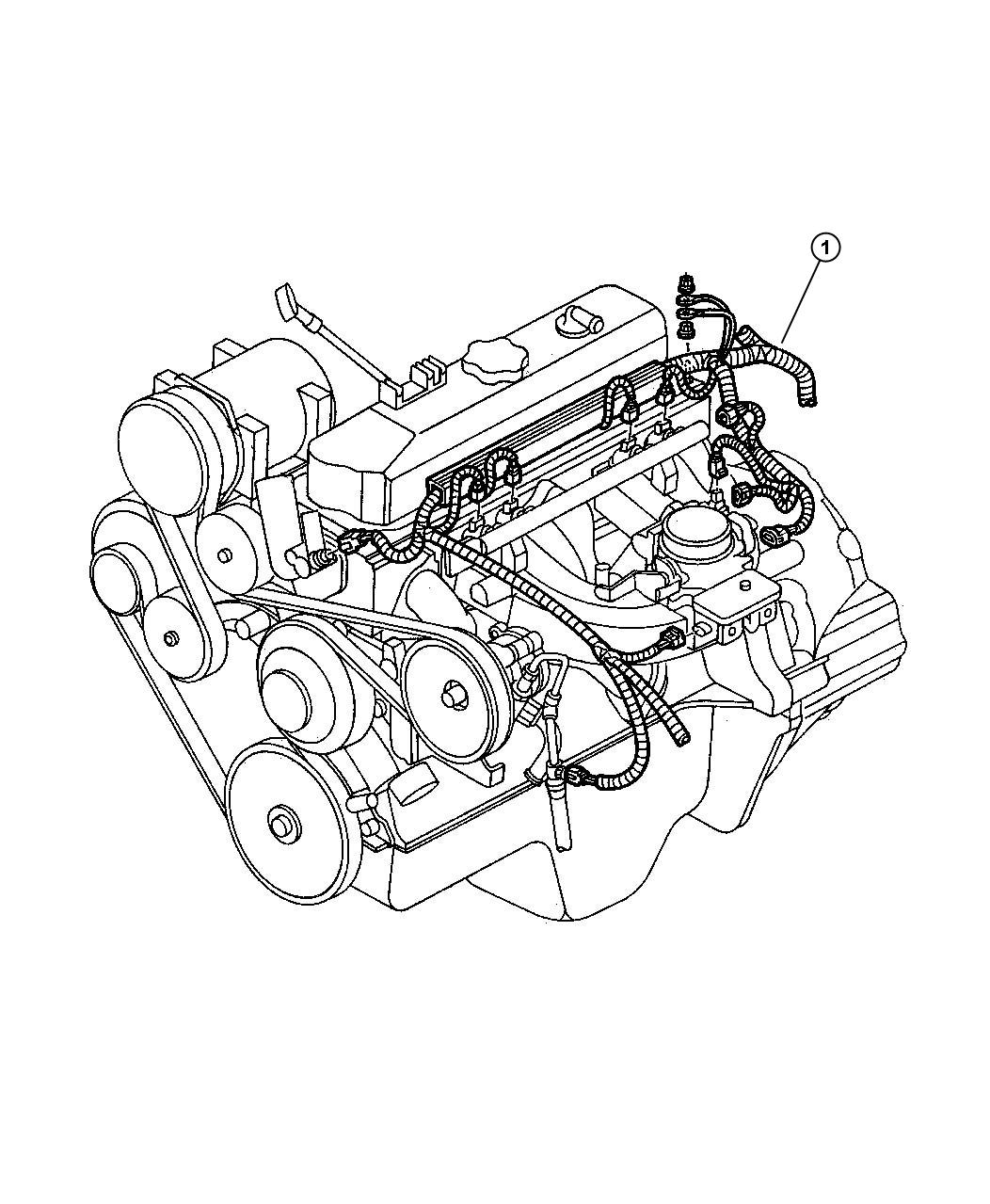 Dodge Dakota Wiring Engine Federal And Export U S 50