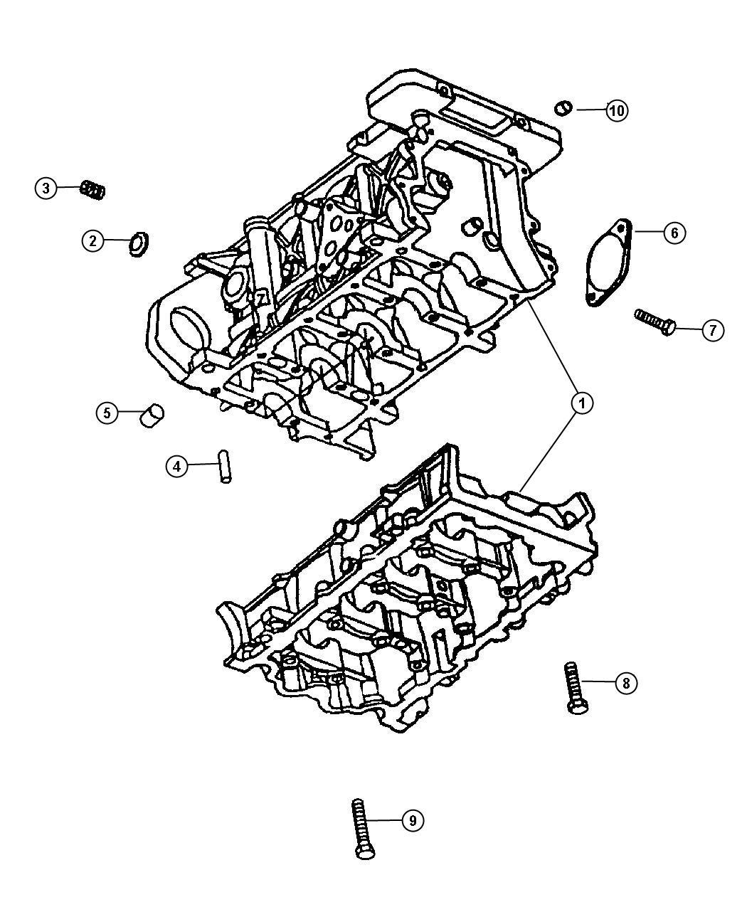 Dodge Neon Gasket Package Engine Lower