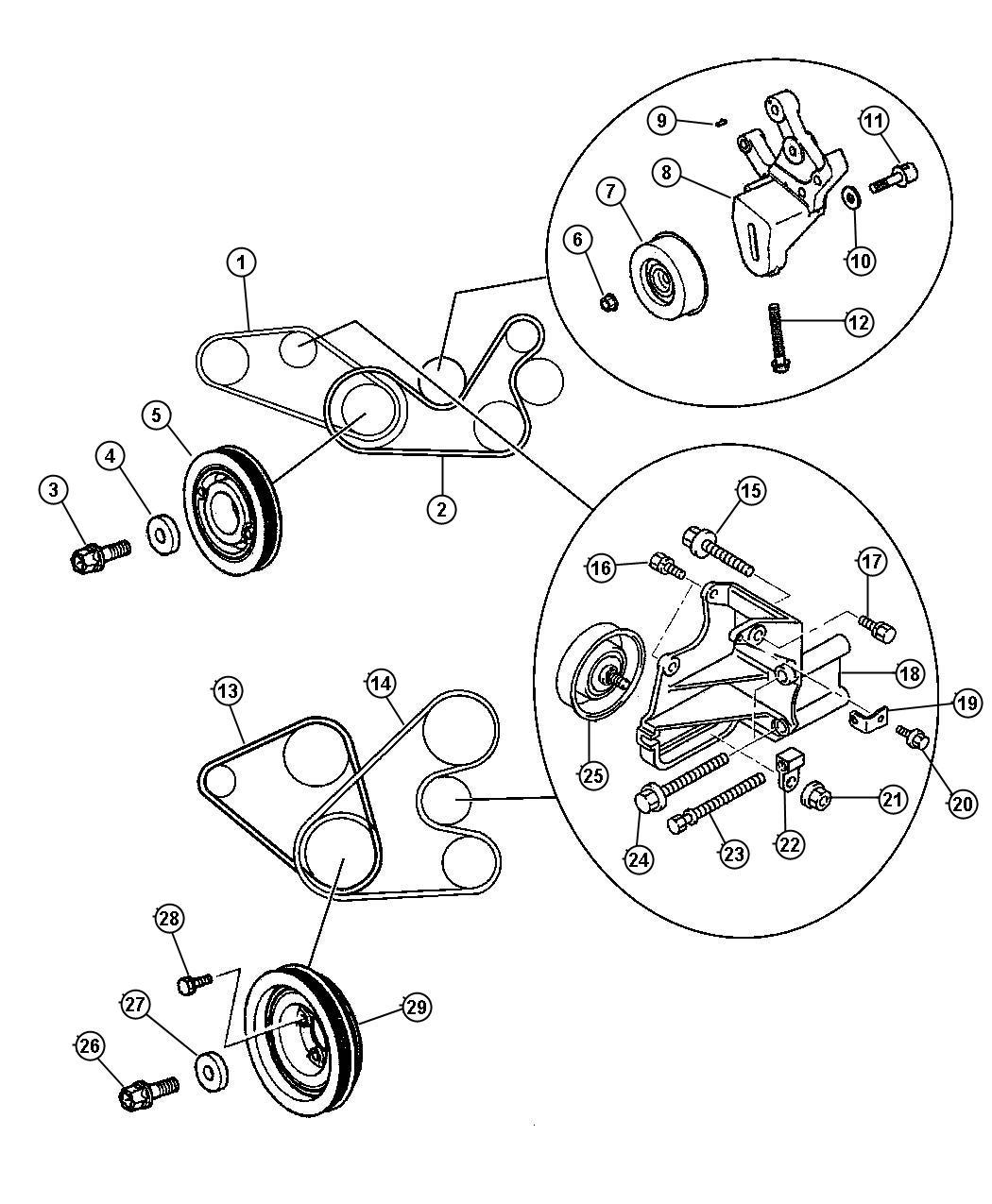 Dodge Stratus Pin