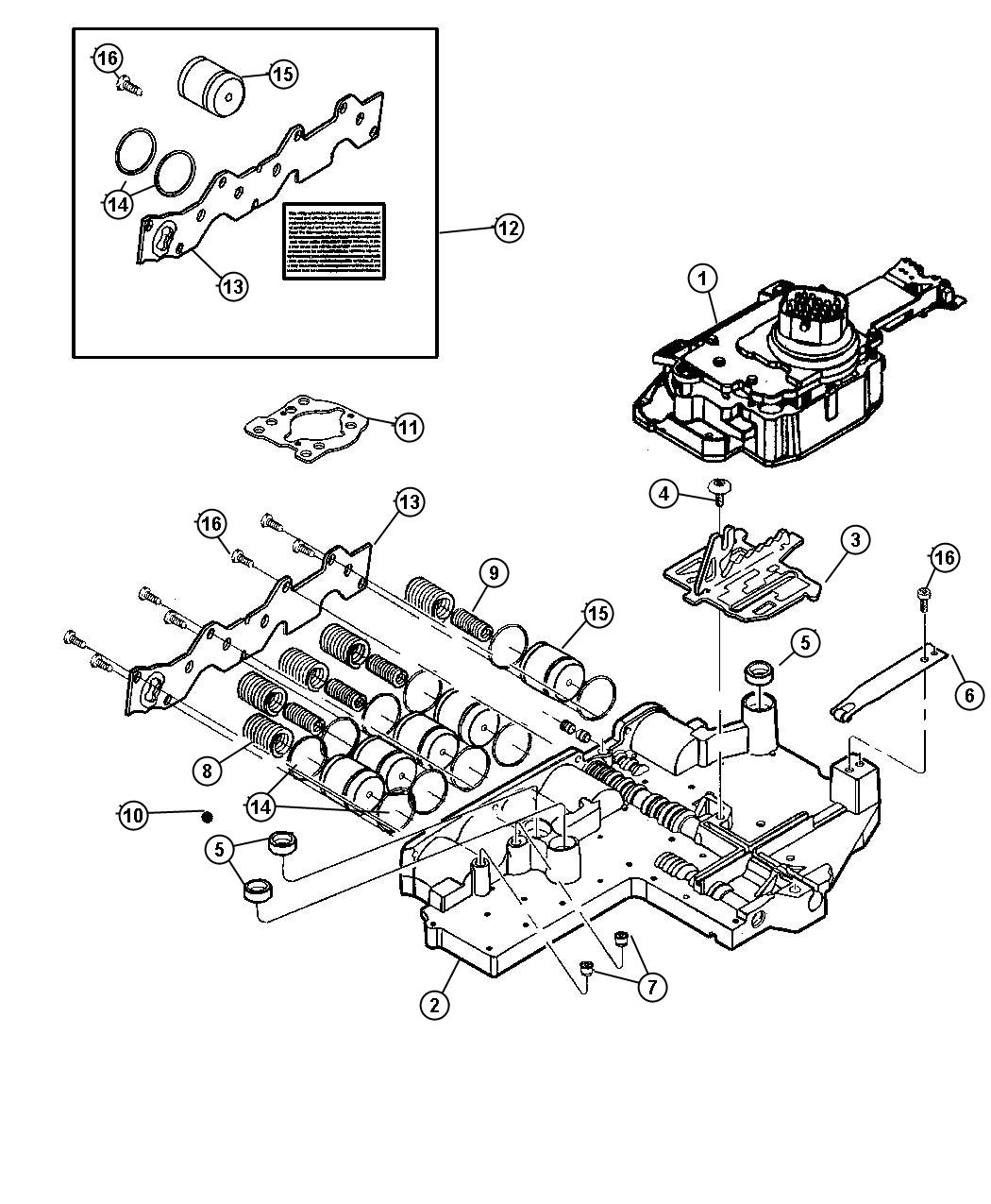 Jeep Liberty Solenoid Transmission