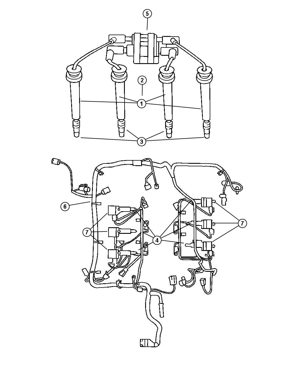 Chrysler Sebring Wiring Engine
