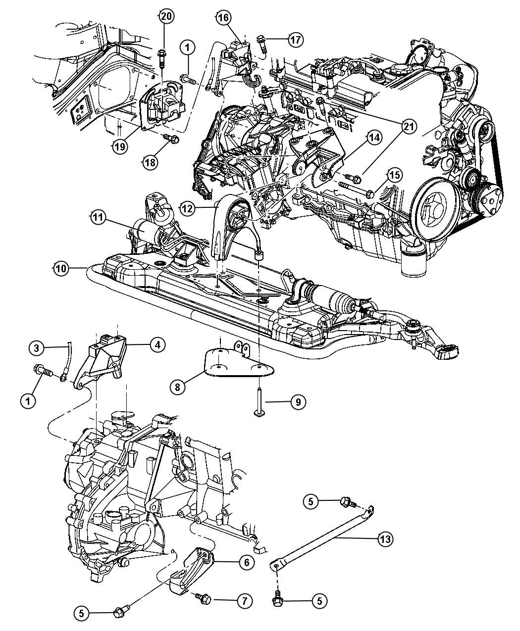 Chrysler Sebring Convertible Hood