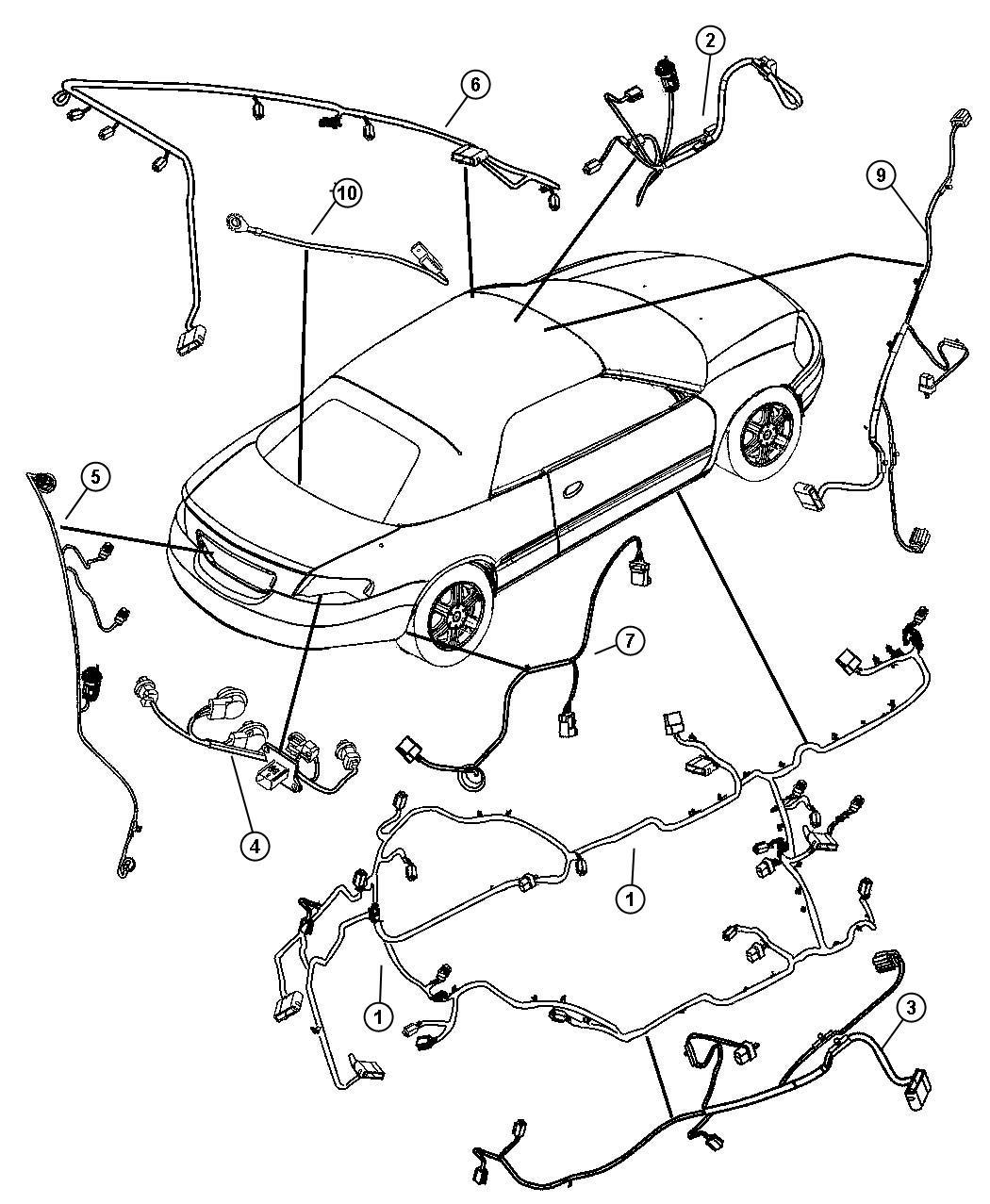 Chrysler Sebring Wiring Unified Body