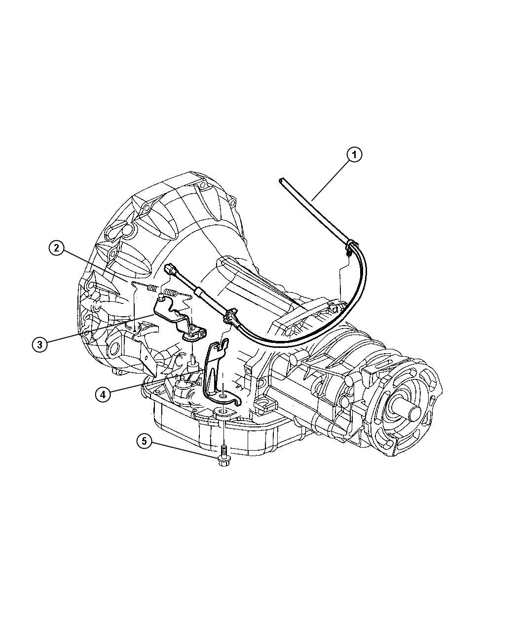 Jeep Grand Cherokee Cable Throttle Valve