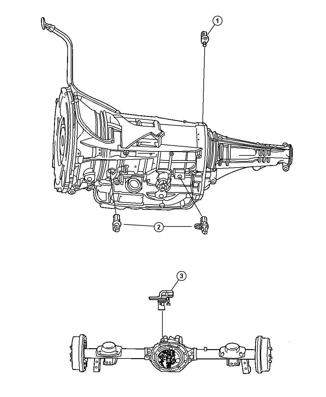 Dodge Ram Sensors Drivetrain
