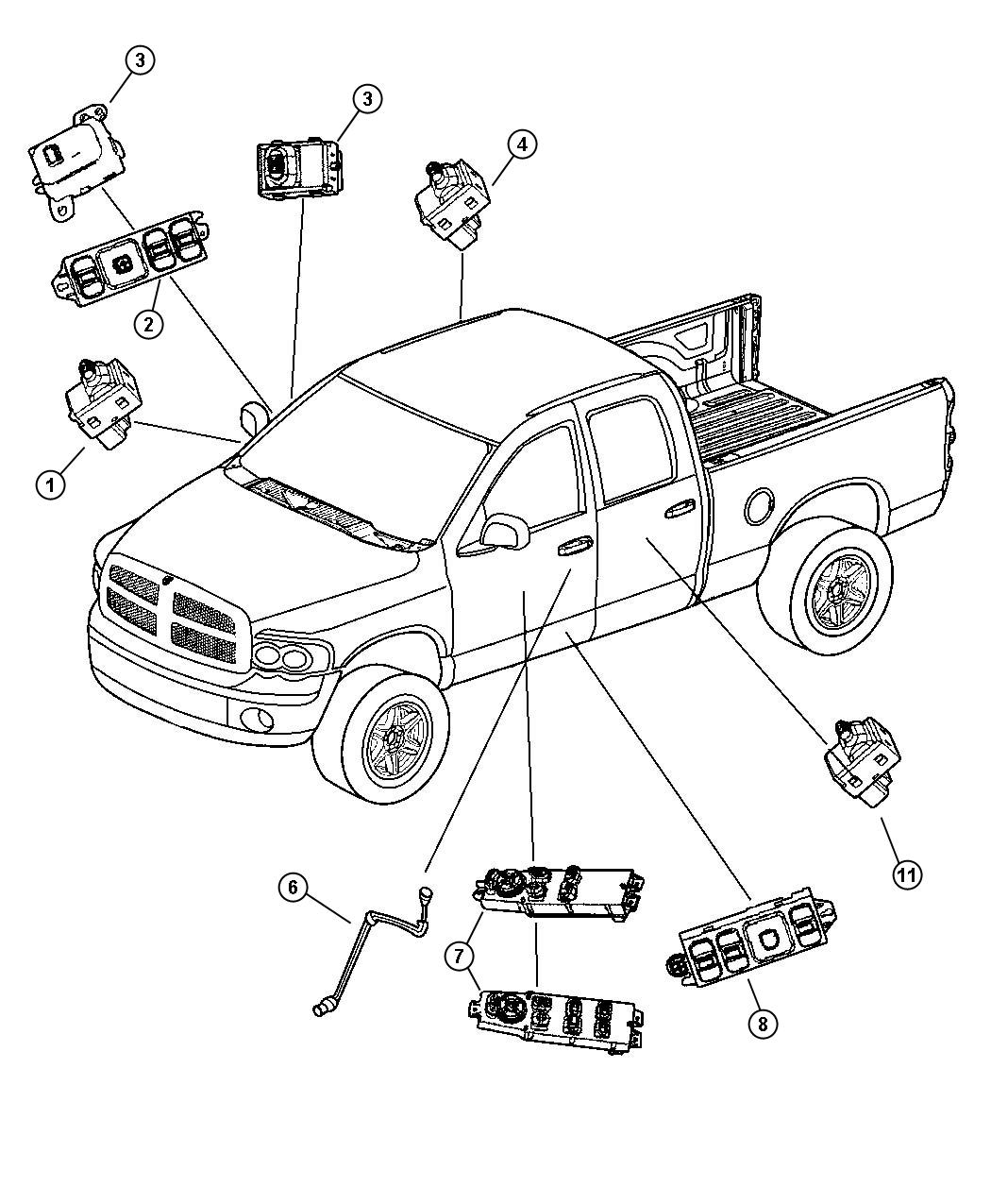 Diagram Dodge Ram Power Window Wiring Diagram Full