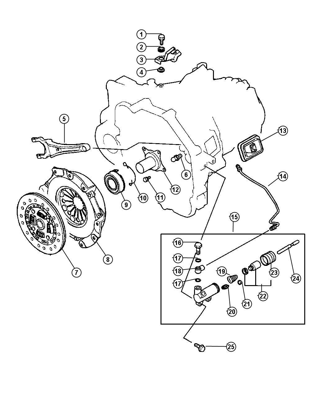 Chrysler Sebring Retainer Bearing