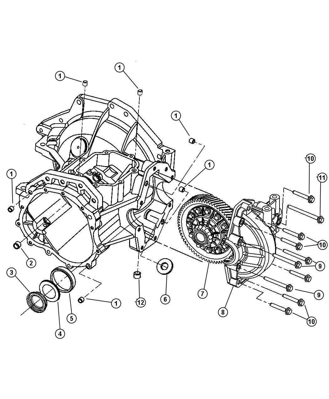 Dodge Neon Plug Transmission Drain Drain Amp Fill