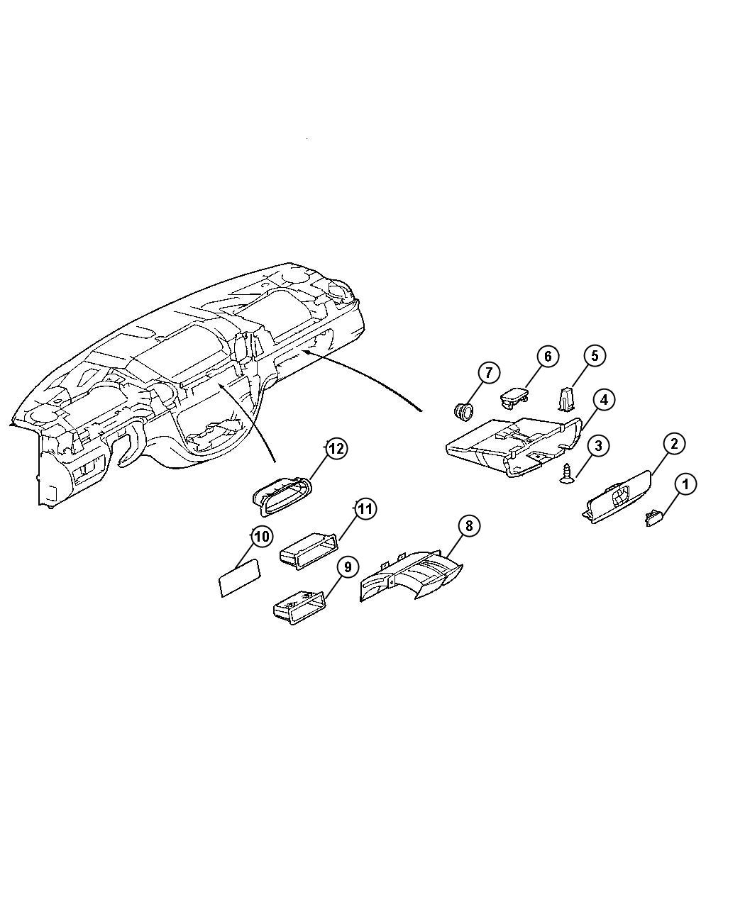 Dodge Durango Screw Used For Screw And Washer Tapping