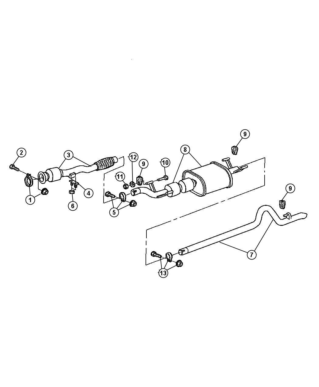 Dodge Sprinter Clamp Exhaust