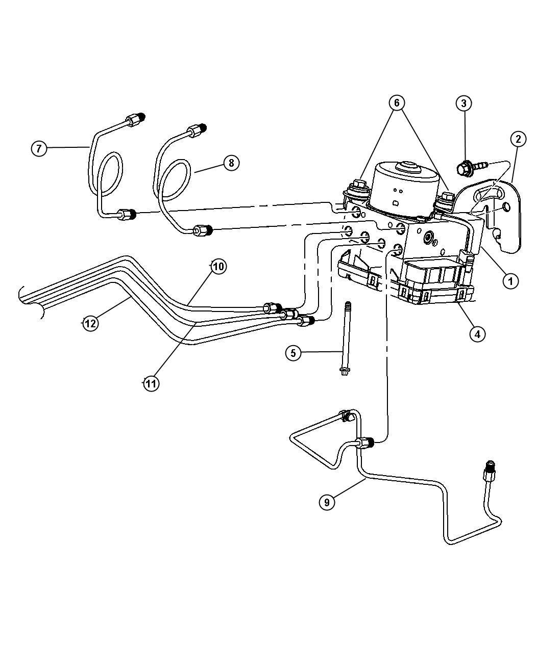 Chrysler Pt Cruiser Module Anti Lock Brakes