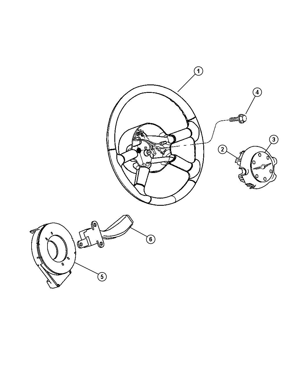 Chrysler Pt Cruiser Wheel Steering Trim All Trim Codes